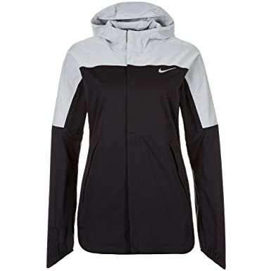 02c1cedd5295 Nike Women s Shield Runner Jacket Flash Black M  Amazon.co.uk  Sports    Outdoors