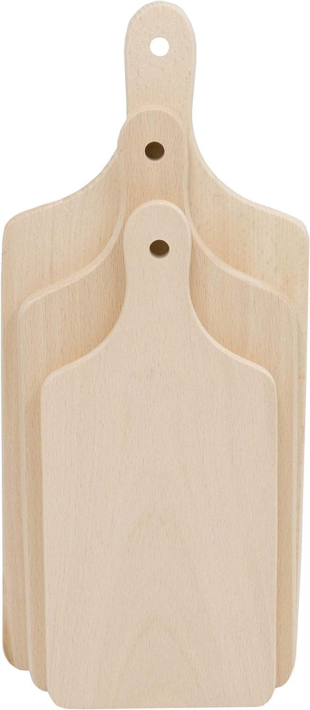 Set di 3 taglieri in legno