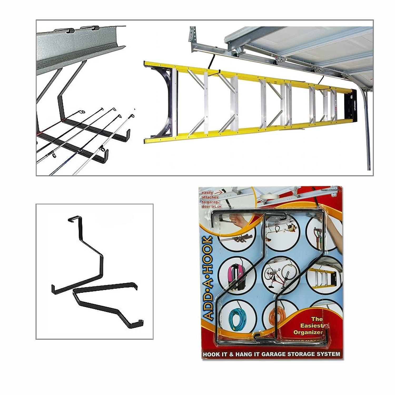 Amazon praxis garage door rail storage hooks set of 4 home amazon praxis garage door rail storage hooks set of 4 home kitchen ccuart Choice Image