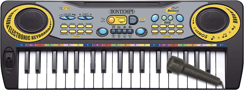 Bontempi-Teclado electrónico, 37 Teclas Paso Midi DO (12 3730)