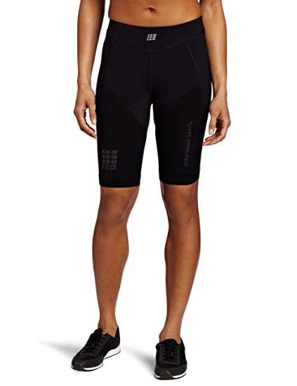 5c68fdab0c52d Amazon.com : CEP Women's Compression Run Short : Running Compression ...