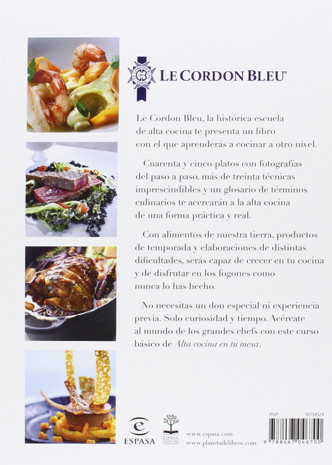 Alta cocina en tu mesa : aprende a cocinar con los chefs de Le ...