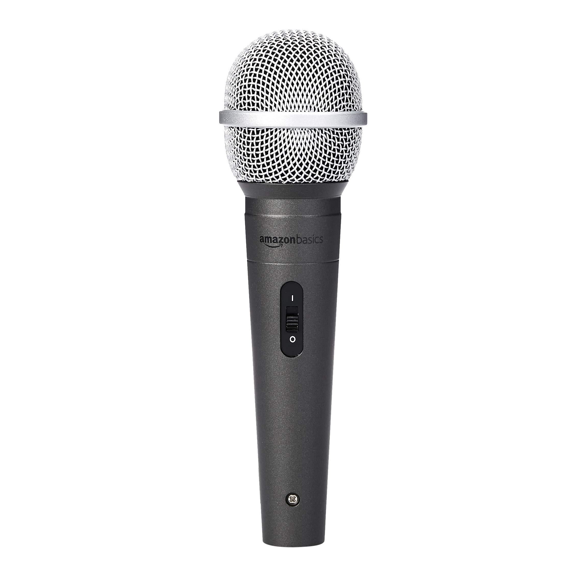AmazonBasics Dynamic Vocal Microphone - Cardioid by AmazonBasics