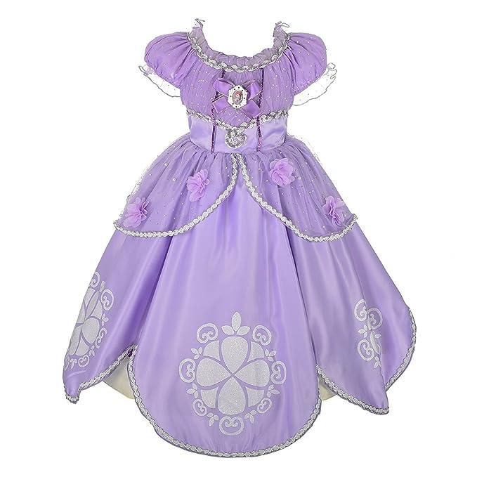 Amazon.com: Rizoo - Vestido largo de verano para niñas con ...