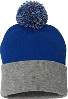 13388bb65ac5c1 Nike Adult SB Concepts Beanie with Removable Pom (Cool Grey (943087 ...