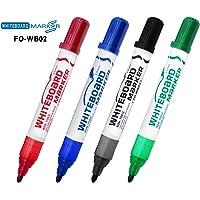 Derwent FO-WB02 WHITEBOARD MARKER FO-WB02 - BULLET NIB - PVC BAG 4 PCS ASTD -
