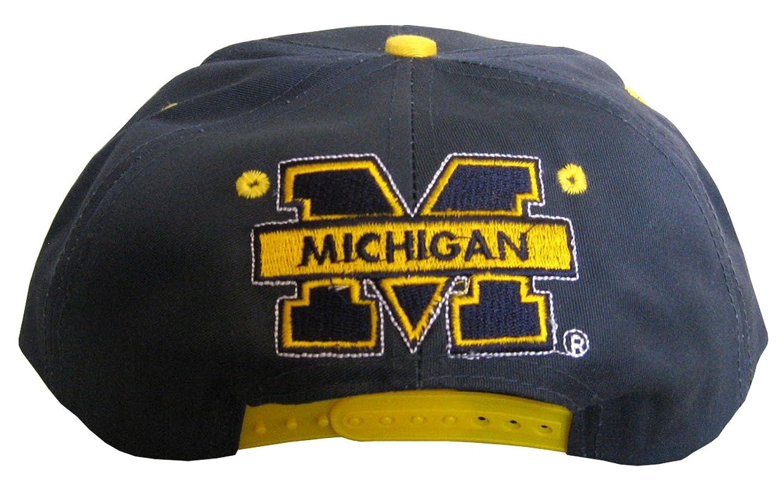 Drew Pearson Vintage Snapback Cap Michigan Wolverines: Amazon.es ...