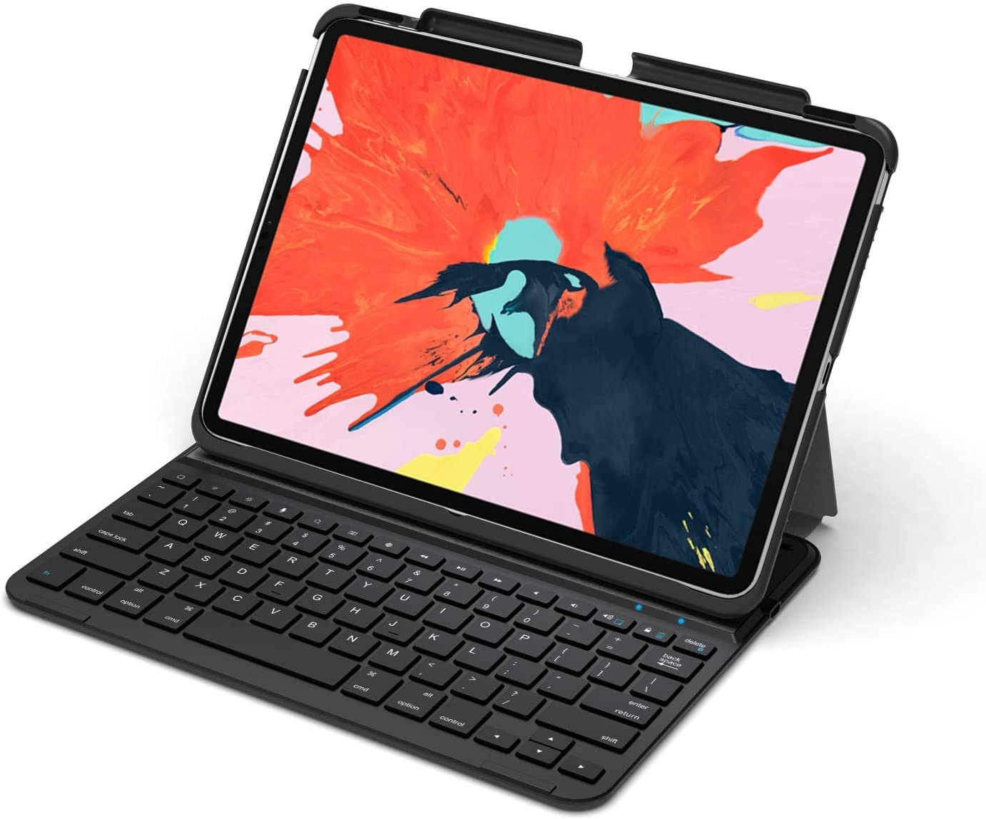 Amazon Com Arteck Ipad Pro 11 Inch Ipad Pro 2020 Keyboard Ultra Thin Bluetooth Keyboard With Folio Full Protection Case For Apple Ipad Pro 11 Inch 2nd Generation 2020 And Ipad Pro 11 Inch 2018 Computers