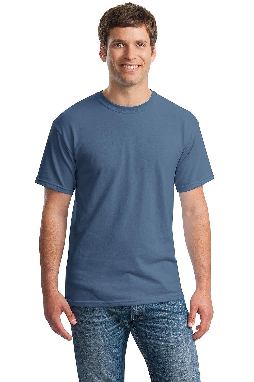Gildan SHIRT メンズ B00WYS4HEQ Large インディゴブルー インディゴブルー Large