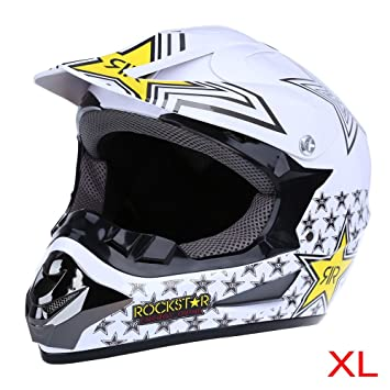 WLT – 125 seguro full face casco de Motocross Dirt Bike Racing transpirable moto máscara