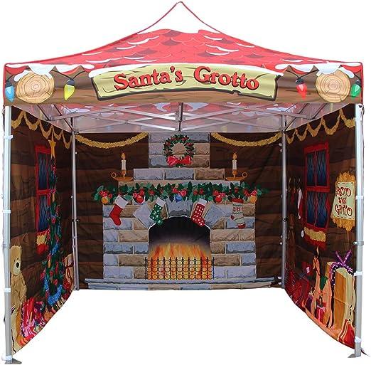 santa's grotto pop up tent