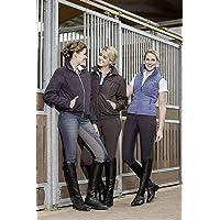 Hkm Chaqueta de equitación para Adultos, Unisex, 2100, Color marrón Oscuro, XS, 2100 marrón Oscuro, XS