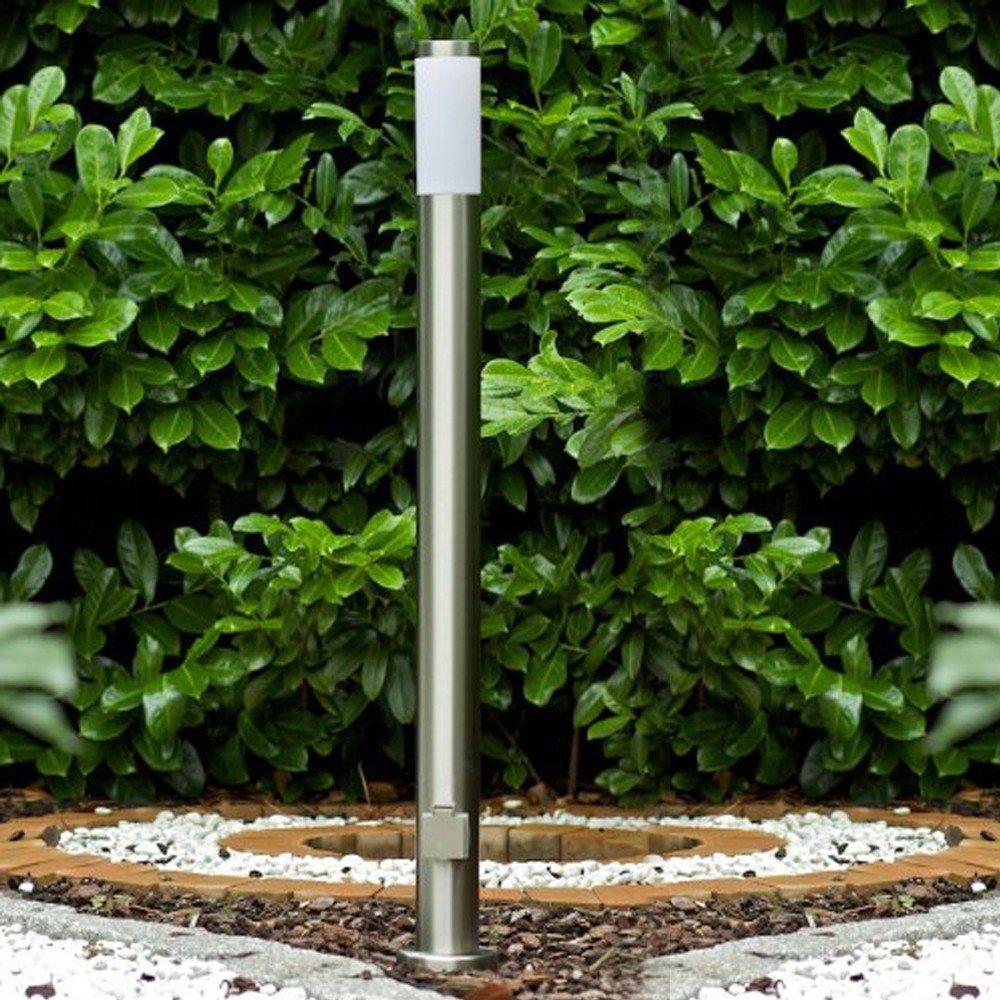 Lampioncino da giardino con presa elettrica