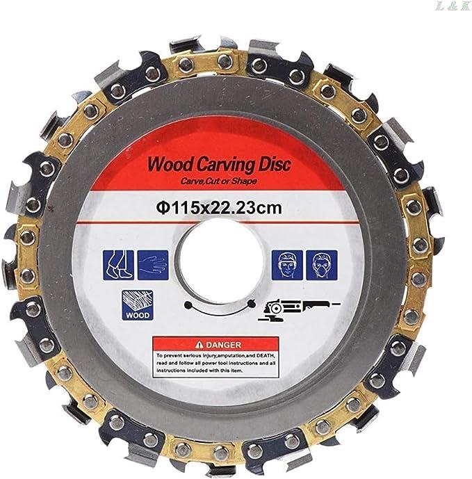 Disco cortante 115 mm de 22 mm de diámetro 9 motosierra diente disco for Amoladoras hoja de sierra circular de la madera de corte de madera ranurada pieza de corte para corte de piedra de madera y met