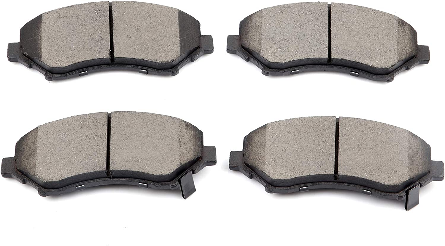 Front Ceramic Brake Pad For 2003-2004 Chrysler Town /& Country Low Noise 4pcs//set