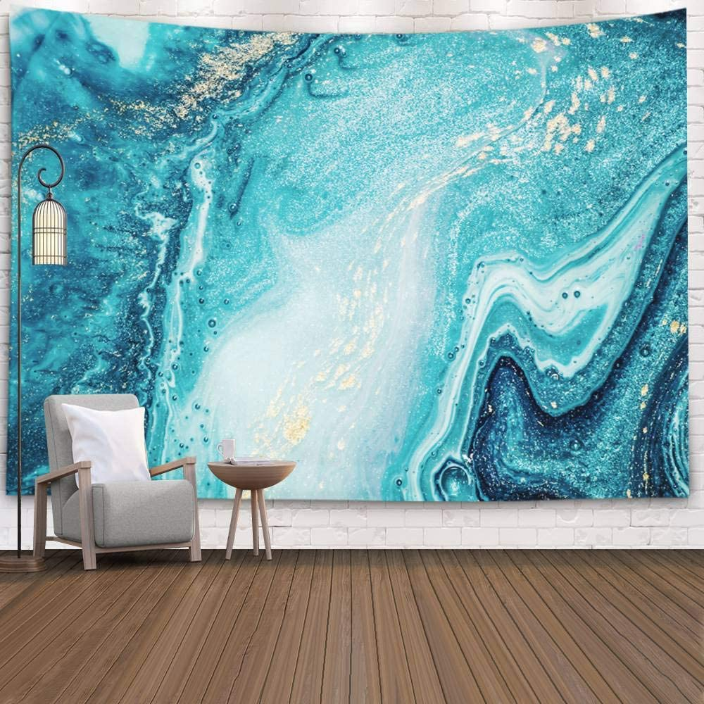 Multi-Color Tapestry Blanket Housewarming Gift Gem and Crystal Graphic Classic Living Room Cotton Throws Abstract Home Decor