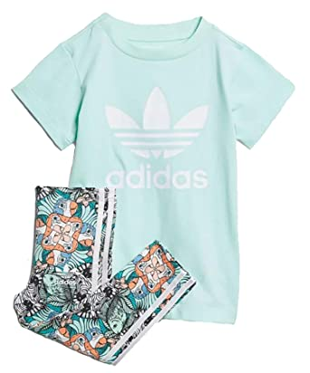 adidas adidas I Zoo TSET Trainingsanzug, Unisex, für Kinder
