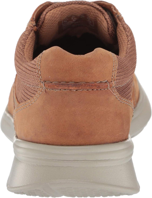 Clarks Men's Cotrell Lane Sneaker Tan Combi Leather