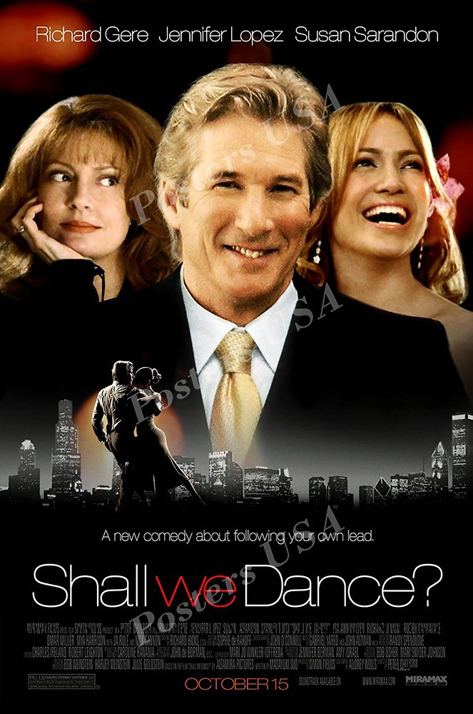 Posters USA - Shall We Dance Movie Poster GLOSSY FINISH - MOV491 (24'' x 36'' (61cm x 91.5cm))