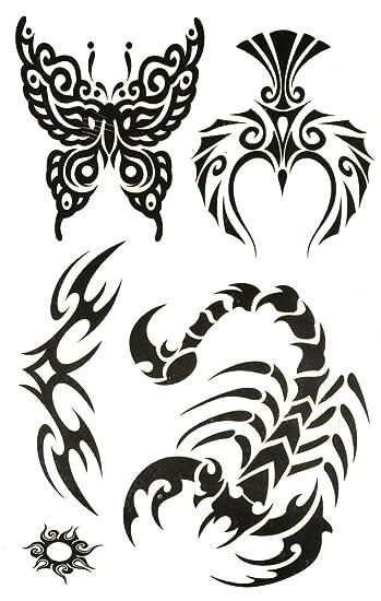 Amazoncom Scorpion Tattoo Butterfly Tattoos Eagle Tattoos