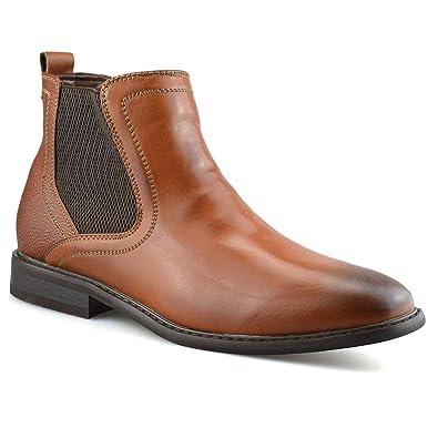 5c410596076 Daniel Hechter Mens New Chelsea Dealer Formal Casual Work Ankle Cowboy  Biker Boots Shoes Size[