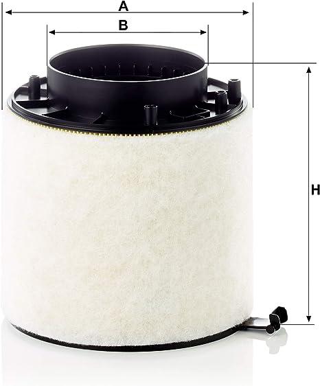 Original Mann Filter Luftffilter Mit Dichtung C 16 114 1 X Für Pkw Auto