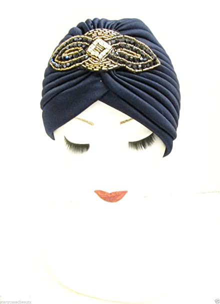 Super sconto la migliore vendita vendita più calda Art Deco con turbante Copricapo 1930s Charleston, anni '20 ...