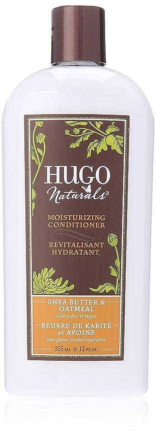 Acondicionador Hidratante, manteca de karité y la harina de avena - Hugo Naturals