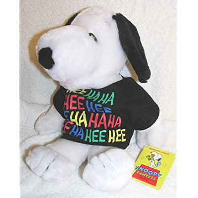 """Peanuts 13"""" Plush Snoopy Pawpets Puppet: Toys & Games"""