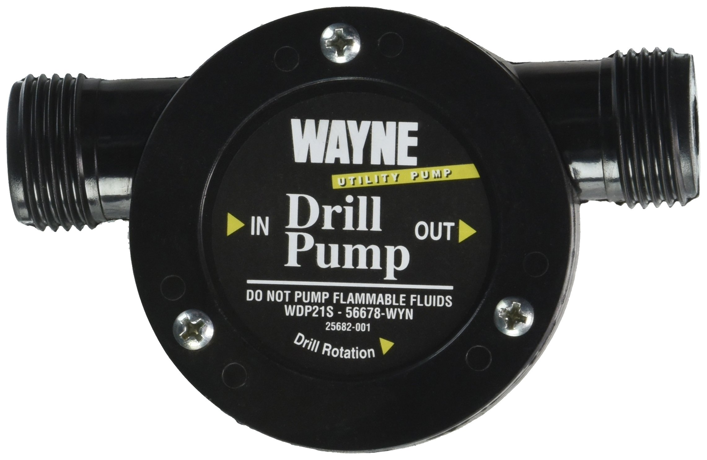 WAYNE WDP21S Light Duty Drill Pump With 3/4 in. Suction & Discharge by Wayne