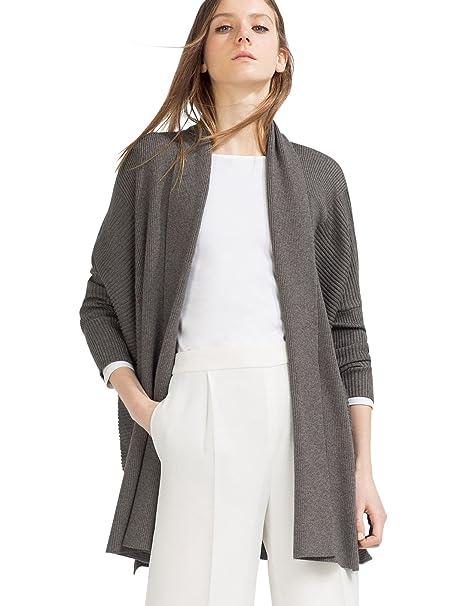 Zara Chaqueta cuello bufanda, talla S: Amazon.es: Ropa y ...