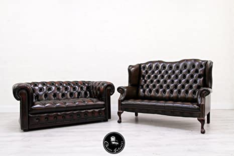 Classic Interior 2 Chesterfield Sofa Leder Antik Vintage ...