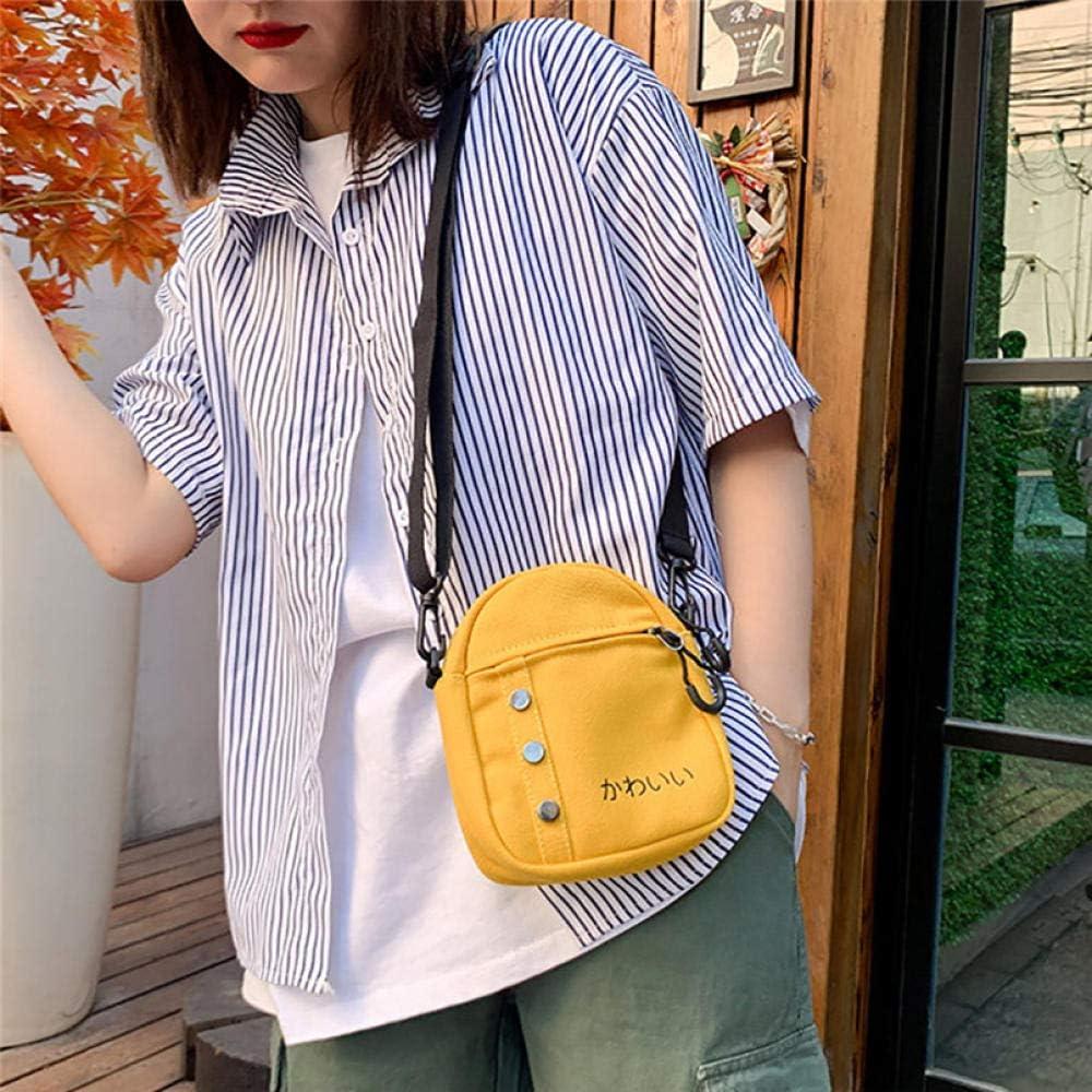 LANDONA Frauen-Art- und Weisebeutel-Segeltuch-Feste Münzen-Geldbeutel-Schulter-Tote-Handtaschen-beiläufige Beutel-Luxuxbeutel für Frauen @White A227
