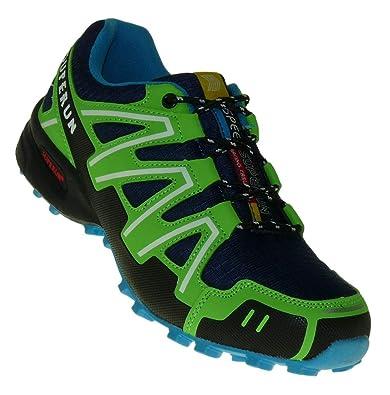 Art 848 Neon Turnschuhe Schuhe Sneaker Sportschuhe Neu Herren