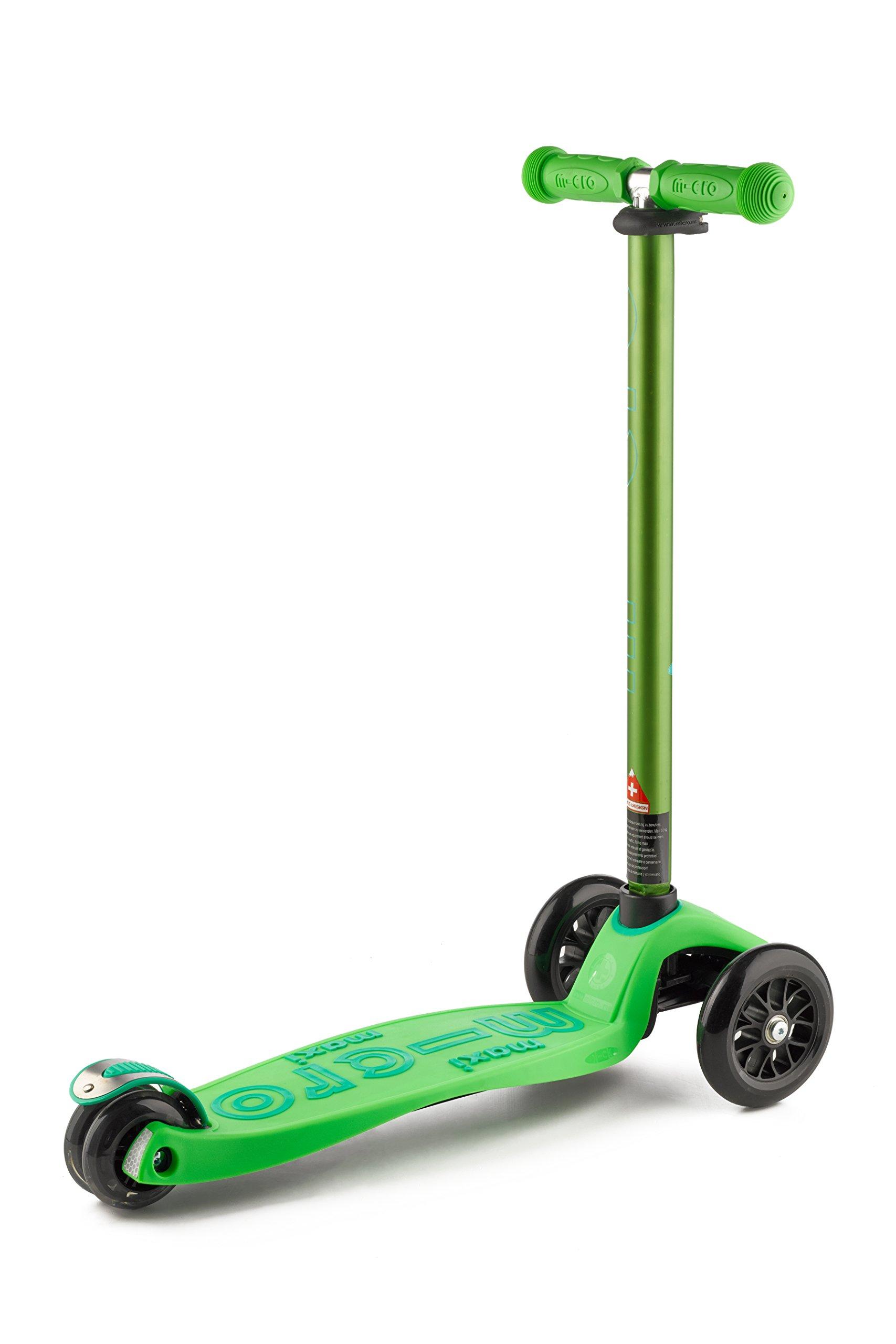 Micro Maxi Deluxe Kick Scooters (Green) by Micro Kickboard (Image #8)