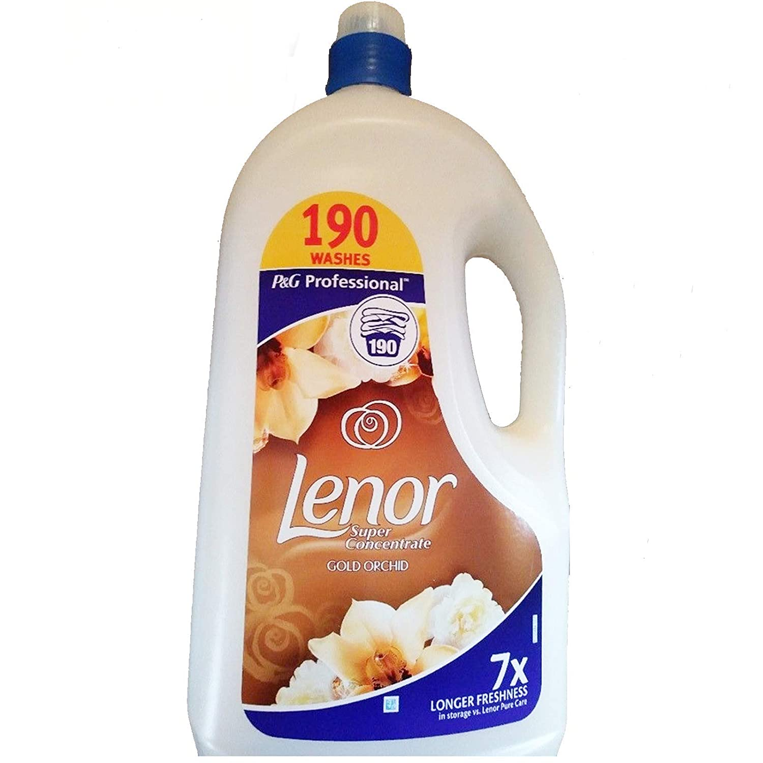 Lenor Super Concentrate Gold Orchid Fabric Conditioner 190 Washes 3.8L (2)