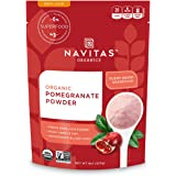 Navitas Organics Pomegranate Powder, 8 oz. Bag — Organic, Non-GMO, Freeze-Dried, Gluten-Free