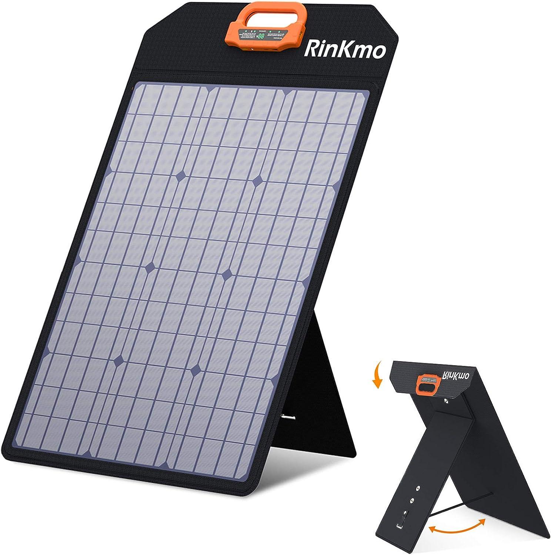RINKMO 50W Portable Solar Panel $75.99 Coupon