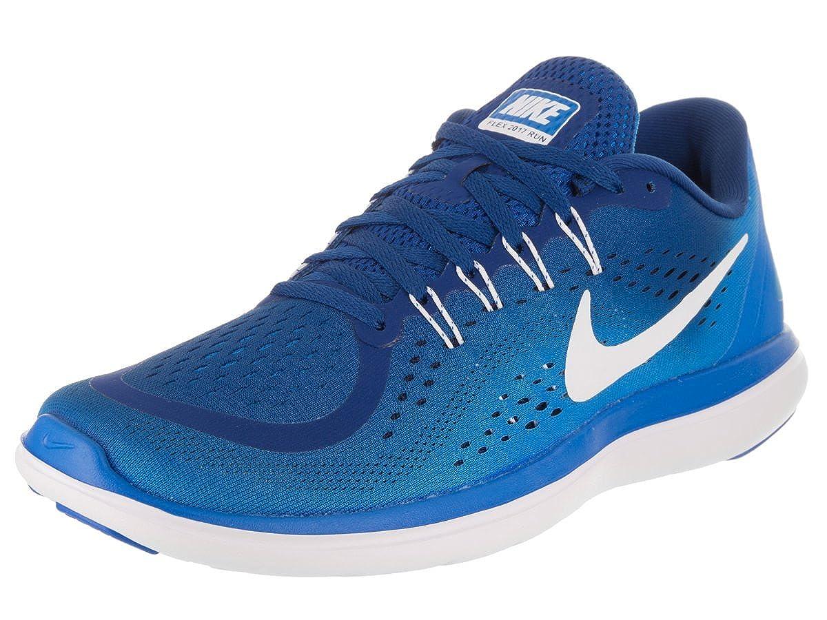 Bleu (Bleu Gym Bleu Photo Bleu Binaire Blanc) Nike Flex 2017 RN, Chaussures de Running Homme 42.5 EU