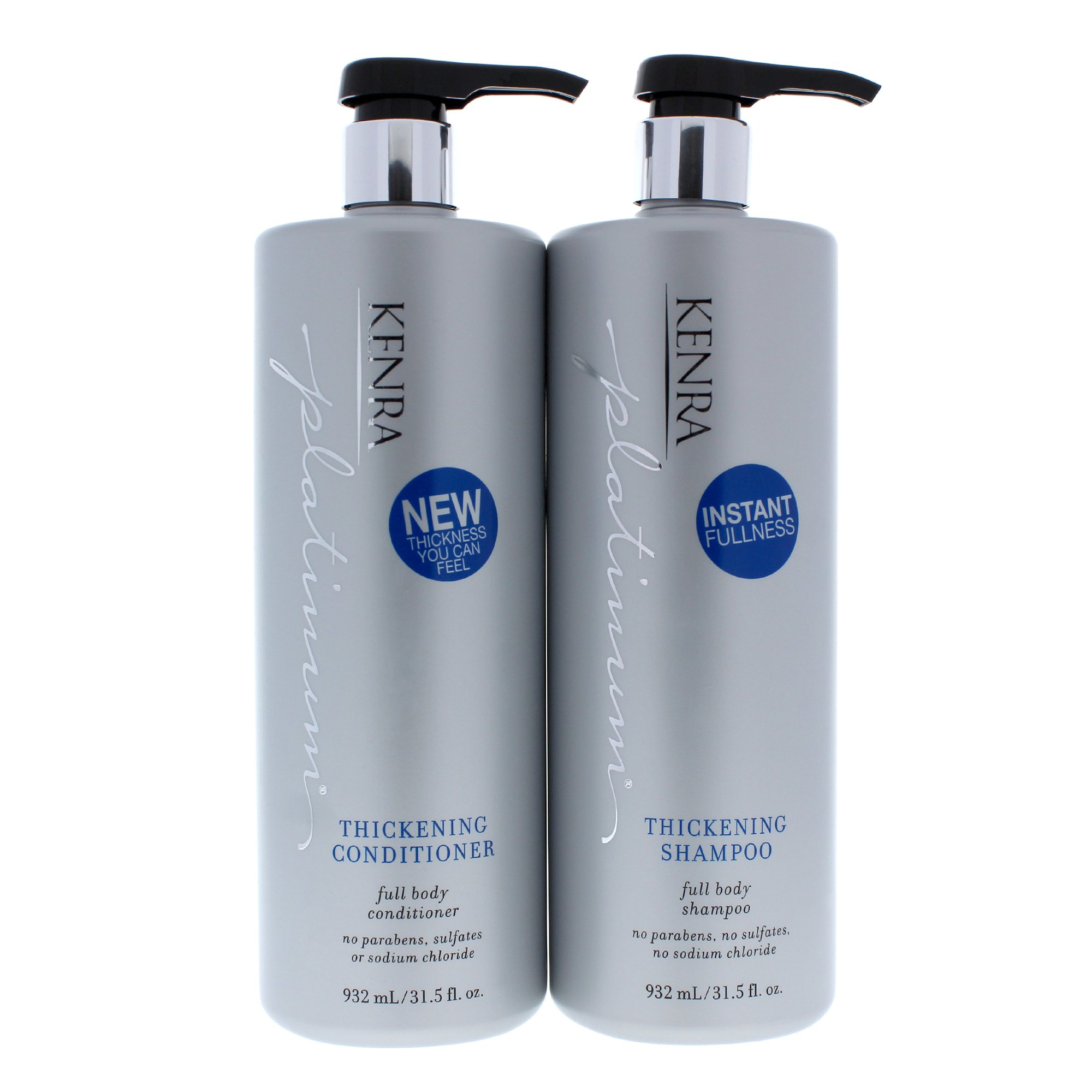 Kenra Platinum Thickening Shampoo & Conditioner Duo, 31.5 Ounce by Kenra
