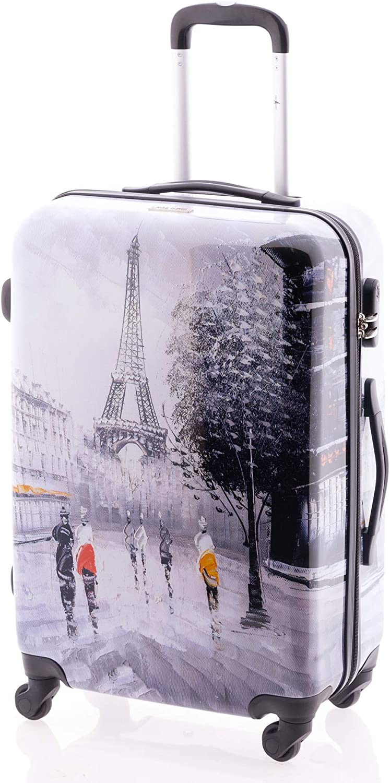 John Travel Maleta de Viaje, Paris tamaño Mediano, 65 L …