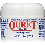 Quret Natural Drawing Salve, 1 Ounce