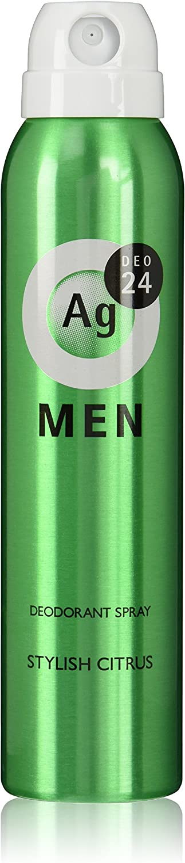 エージーデオ24 メンズ デオドラントスプレー スタイリッシュシトラスの香り 100g
