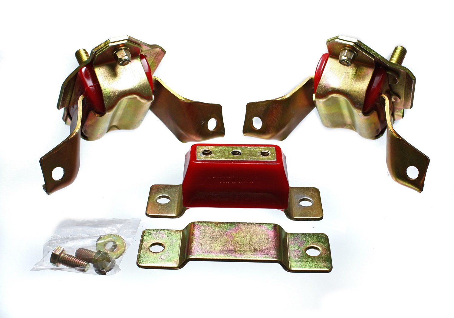 Energy Suspension 4.1124R Motor Mount and Transmission Set for Mustang