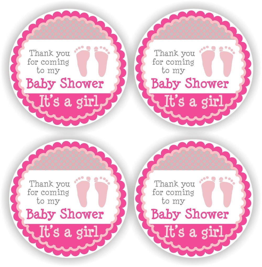 Amazon Philly Art Crafts Baby Girl Shower Stickers Its A
