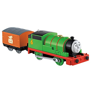 Fisher-Price Thomas & Friends TrackMaster, Motorized Percy Engine: Toys & Games
