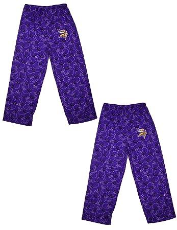 Pack of 2) NFL Boys Minnesota Vikings Sleepwear   Pajama Pants 6-7 ... d65db2466