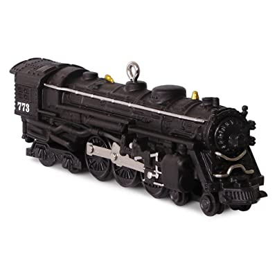 "Hallmark Keepsake Trains #21 ""773 Hudson Steam Locomotive"" by Lionel Holiday Ornament: Home & Kitchen"
