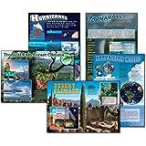 Carson Dellosa Mark Twain Science: Extreme Climates and Weather Bulletin Board Set (410022)