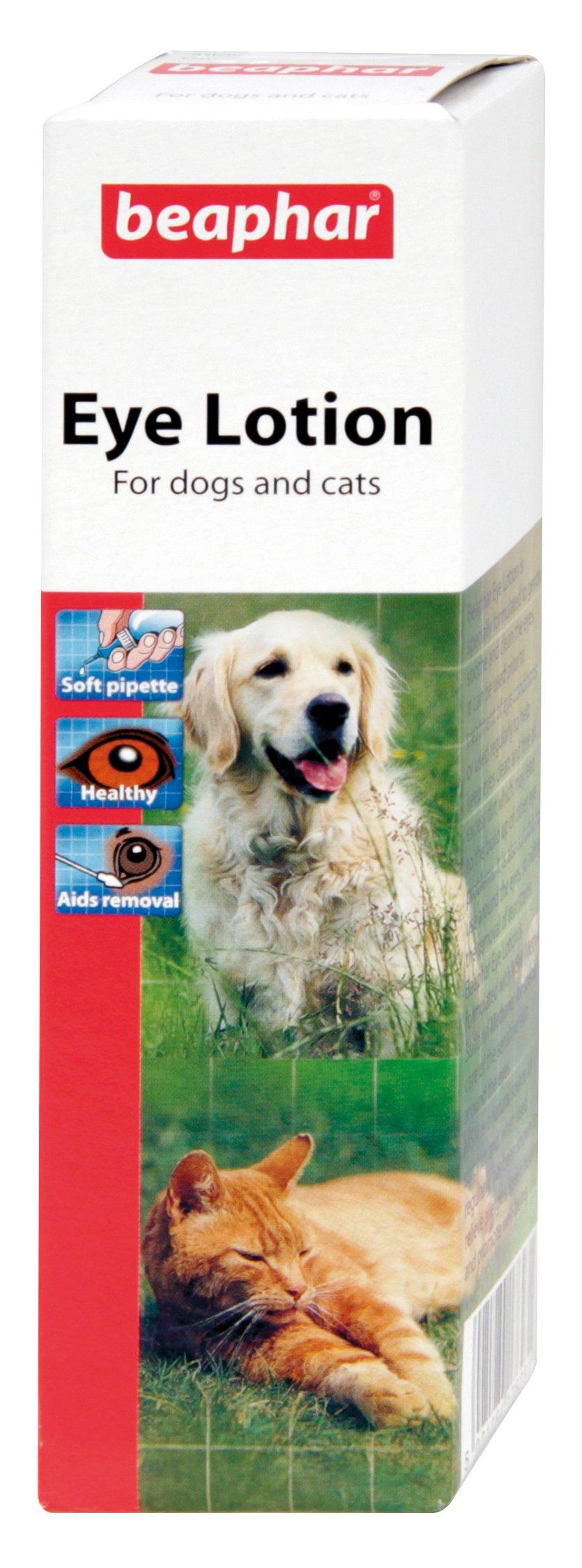 Beaphar Dog Cat Eye Lotion 50ml Sterile Saline – Solution